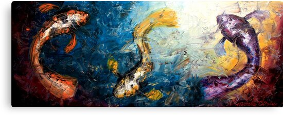 Swimming in the Light by Abstract D'Oyley