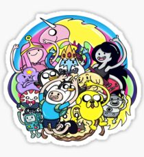 What Time It Is? Adventure Time  Sticker