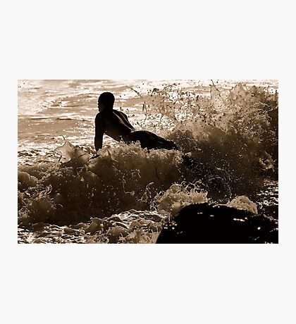GLIDER SURFER  Photographic Print