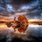 Storm Rock by Bob Larson