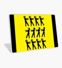 March of the Zombie TV Guys by Chillee Wilson Laptop Skin