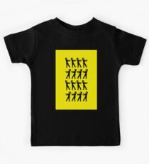 March of the Zombie TV Guys by Chillee Wilson Kids Tee