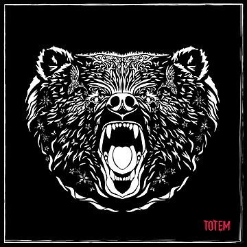 Totem Pole. Grizzly Bear by NataliSven