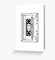 Chillee's Mixed Tape 2 by Chillee Wilson Greeting Card