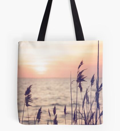 Dune grass in the sunset Tote Bag