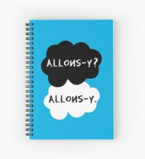 allons-y? allons-y. Spiral Notebook