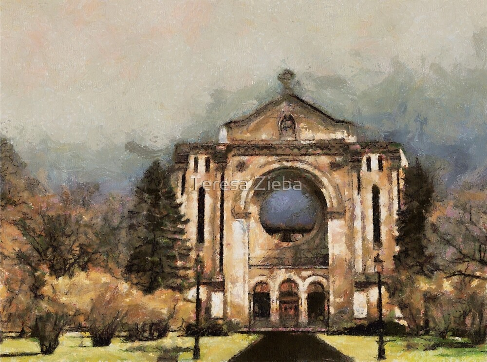 Painted Basilica 2 by Teresa Zieba