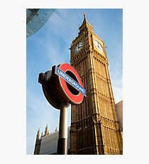 Signs of London: UK Photographic Print