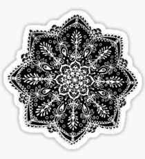 Lavender Revisited - Mandala Design Sticker