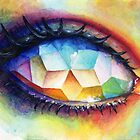 Mosaic eye by umantsiva
