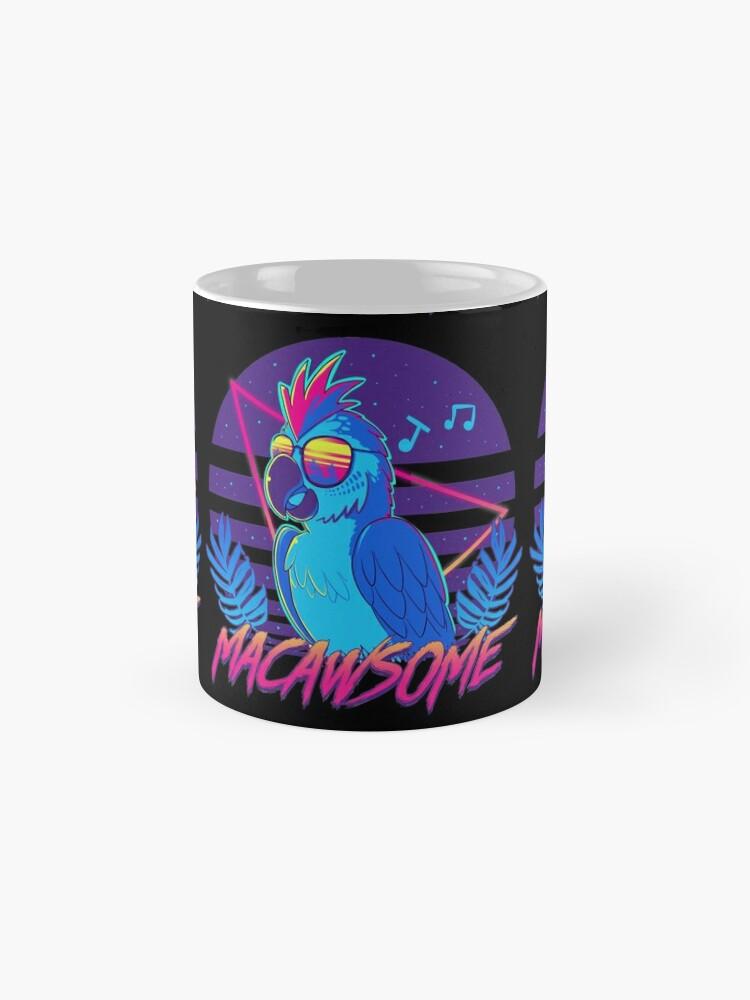 Alternate view of Macawsome Mugs