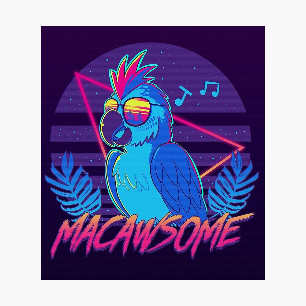 Macawsome Photographic Print