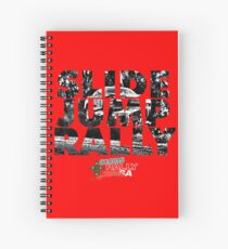 Slide Jump Rally - Red Spiral Notebook