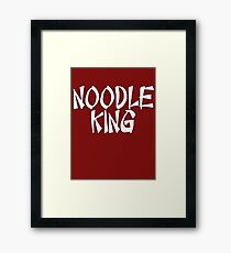 Noodle King by Chillee Wilson Framed Print