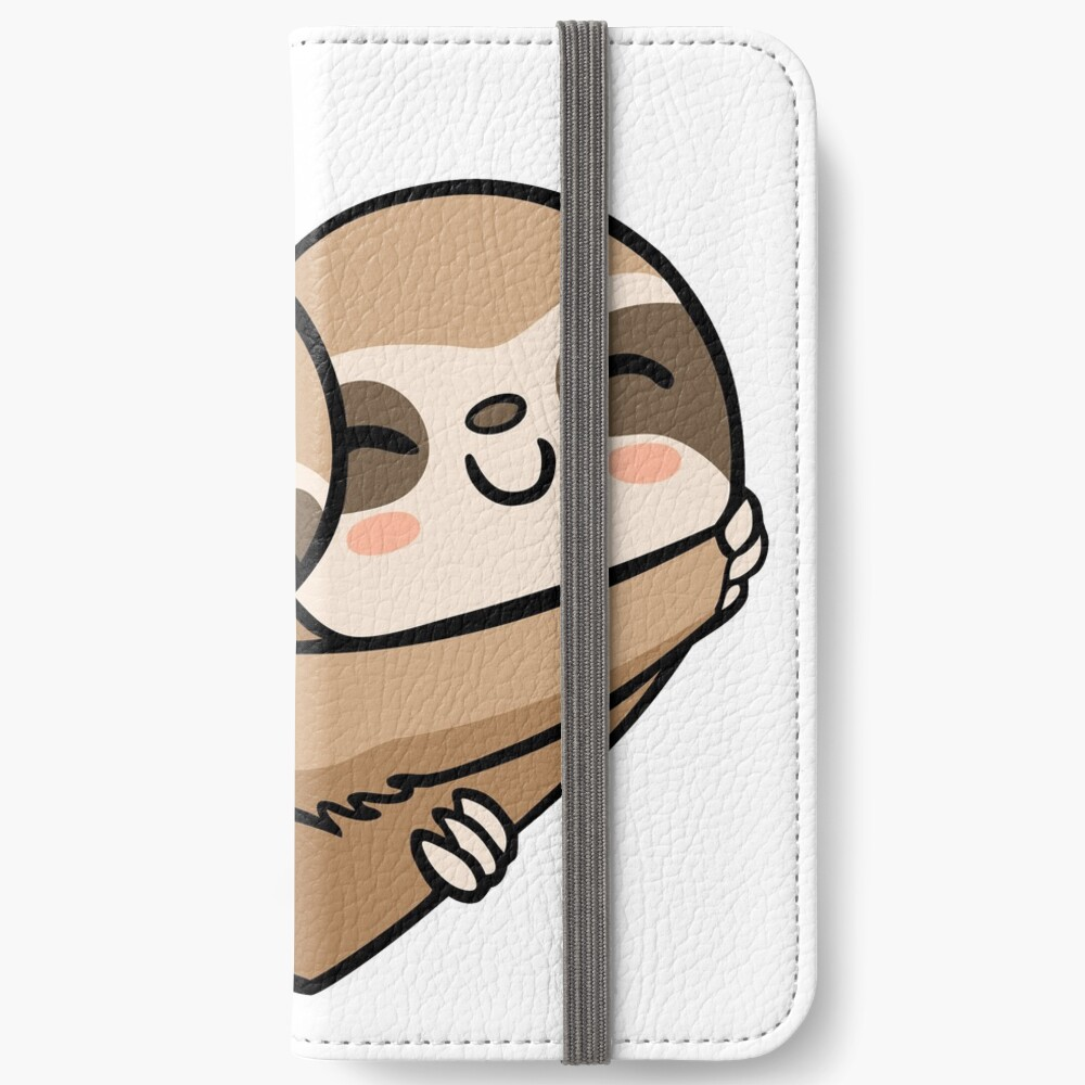 Sloth  Heart iPhone Wallet