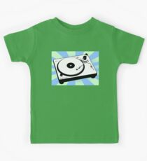 Retro Record Player by Chillee Wilson Kids Clothes
