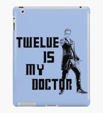 Twelve is my doctor  iPad Case/Skin