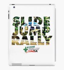 Slide Jump Rally - Colour/White iPad Case/Skin