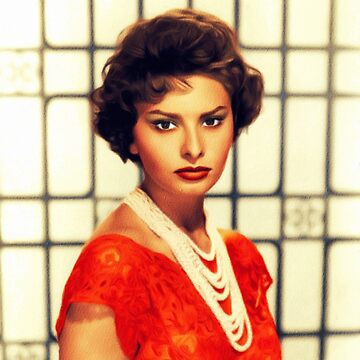 Sophia Loren, Vintage Hollywood Legend by SerpentFilms