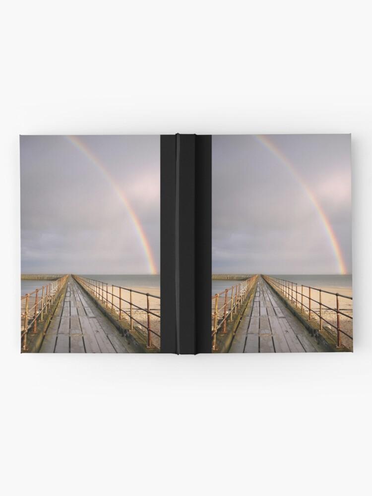 Alternate view of rainbow Hardcover Journal