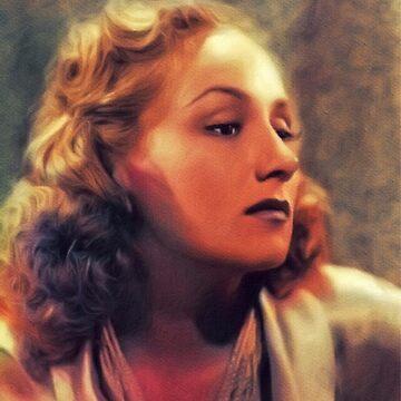 Lya Lys, Vintage Actress by SerpentFilms
