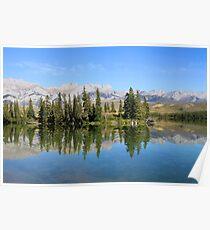 Talbot Lake,  Jasper National Park Poster