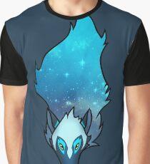 Cosmic Wolf Graphic T-Shirt