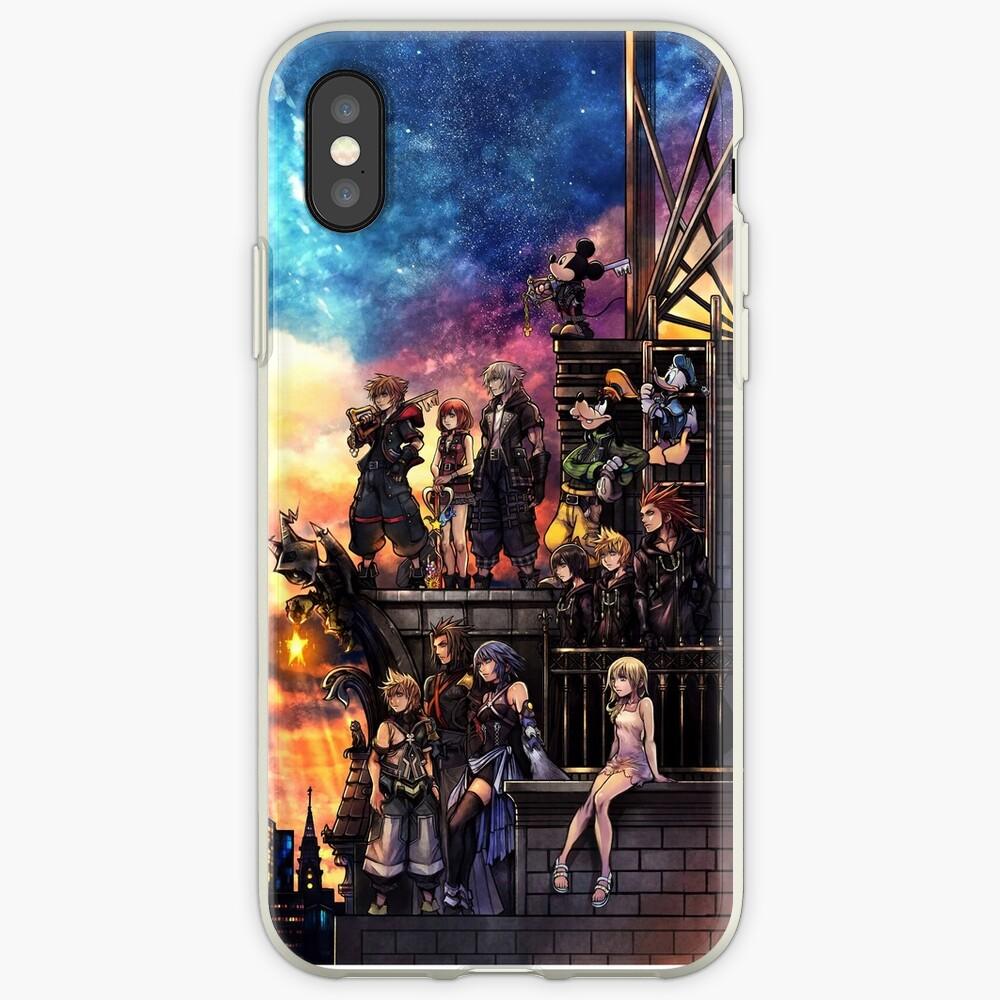 Portada de Kingdom Hearts 3 Vinilos y fundas para iPhone