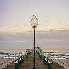 The Ocean Grove Pier at Dawn by Debra Fedchin