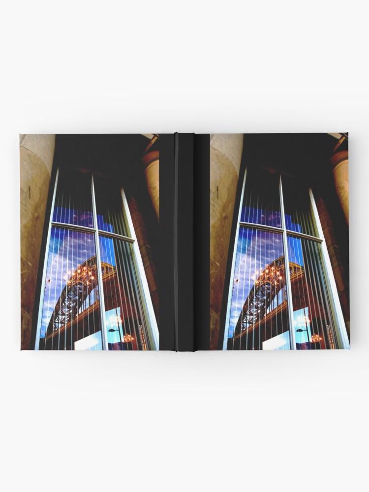 Alternate view of bridge Hardcover Journal