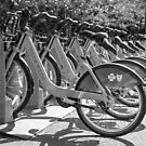 Nice Ride Bicycles BW by Gypsykiss