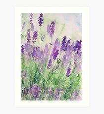 Parfum de la Provence Art Print