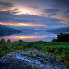 Loch Katrine Summer Sunrise by David Mould
