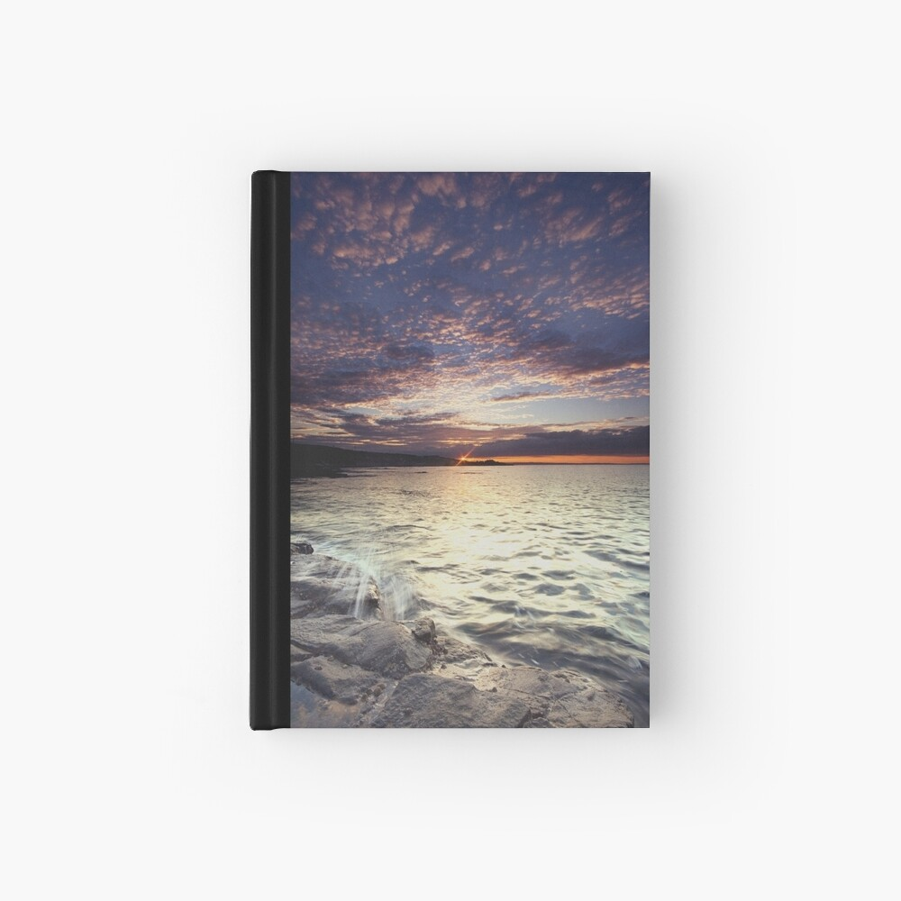 End of the day Hardcover Journal