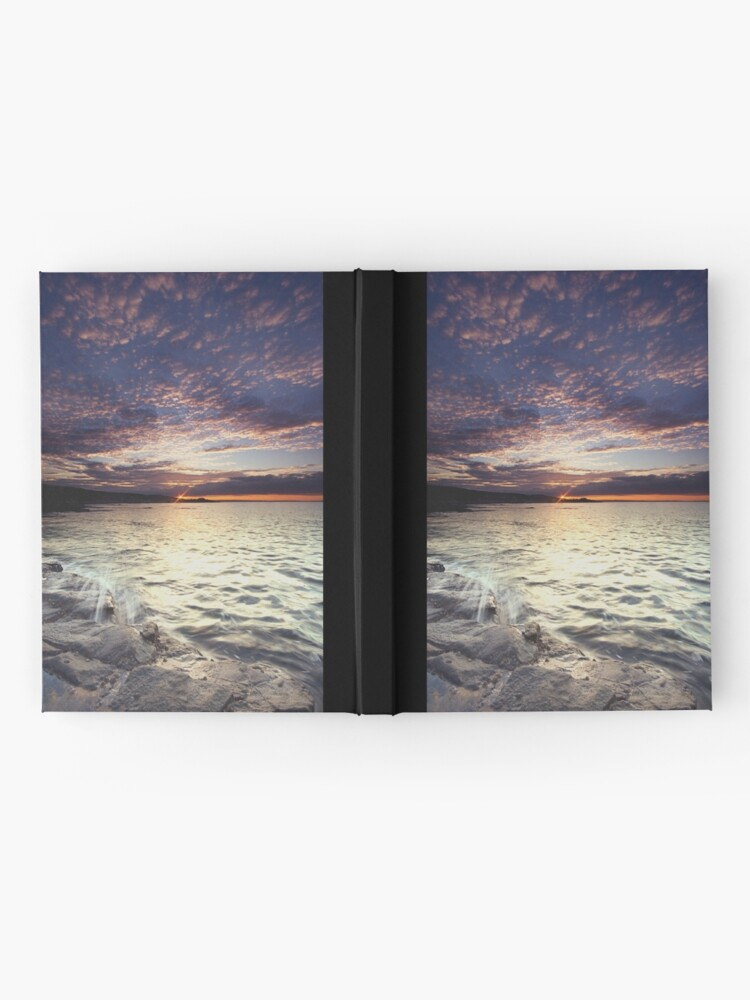 Alternate view of End of the day Hardcover Journal