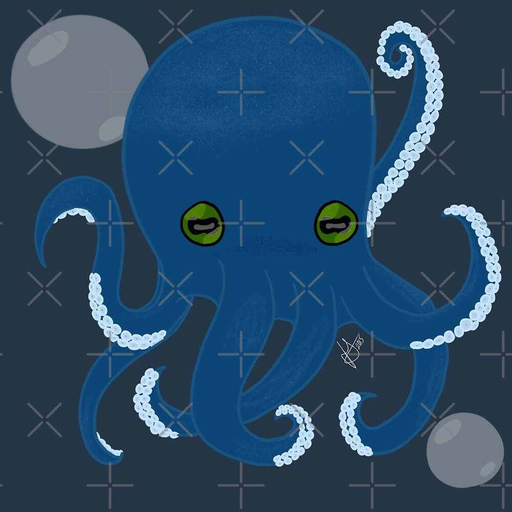 Mortimer The Octopus! by Jennifer Greseck