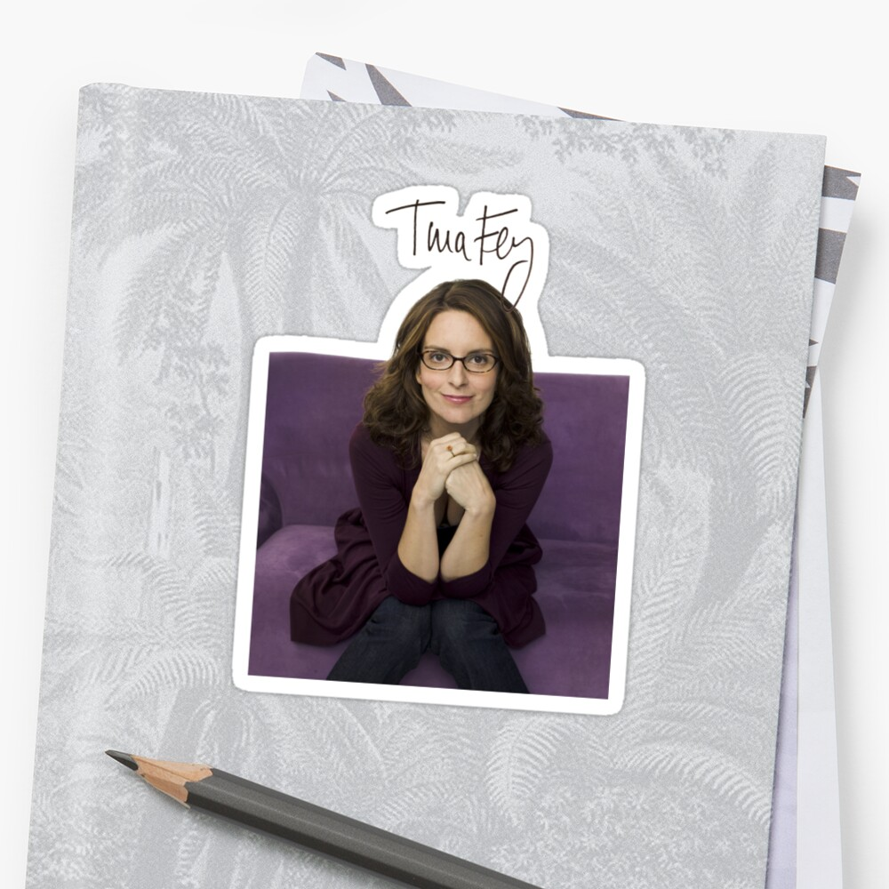 Tina Fey photo + Signature by joshgranovsky