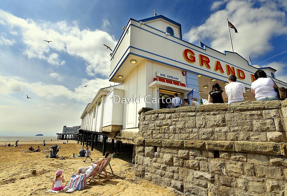 Grand pier, Weston Super Mare by David Carton