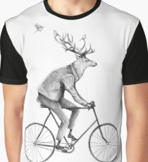 Even a Gentleman rides Graphic T-Shirt