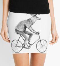Even a Gentleman rides Mini Skirt