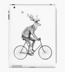 Even a Gentleman rides iPad Case/Skin