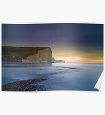 Seven Sisters from Cuckmere Haven Poster