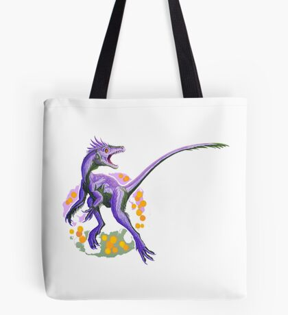Juravenator (without text)  Tote Bag