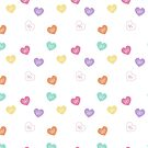 Gay Love Conversation Hearts by Queerest Gear