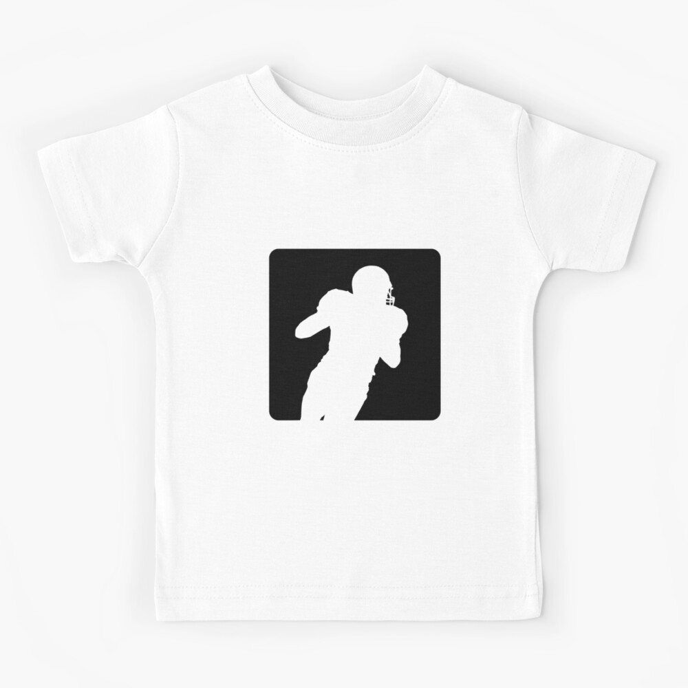 Spieler läuft American Football Design Kinder T-Shirt