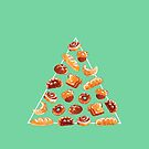 Bread Pyramid In Mint Green by Paigekotalik