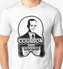 Coulson is My Homeboy (Outline) Unisex T-Shirt