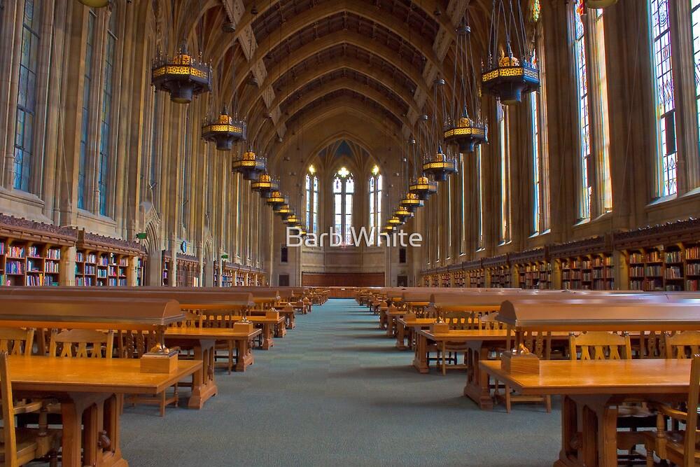 Suzzallo Library (University of Washington) (NON HDR version) by Barb White
