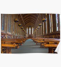 Suzzallo Library (University of Washington) (NON HDR version) Poster