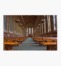 Suzzallo Library (University of Washington) (NON HDR version) Photographic Print